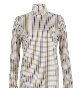 mustard tattersall check