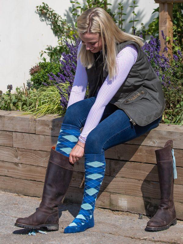 long bamboo socks