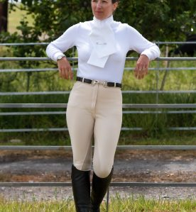 bamboo stock shirt, hunt shirt, riding top, equestrian stock shirt, soft stock shirt, warm stock shirt, british made equestiran clothing