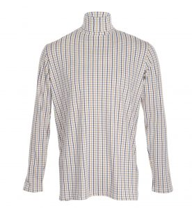 mens country check jumper