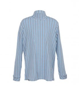 childrens blue check clothing