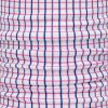 CHILDRENS PINK CHECK POLO NECK