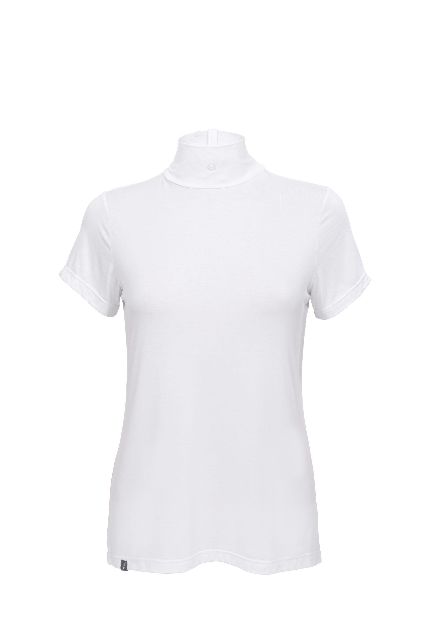 white bamboo lightweight stock shirt