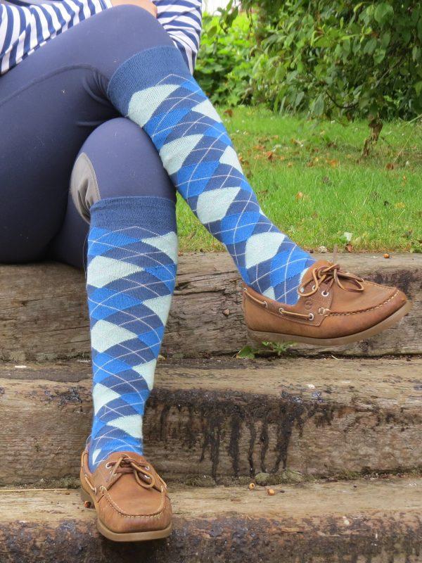children's long riding socks