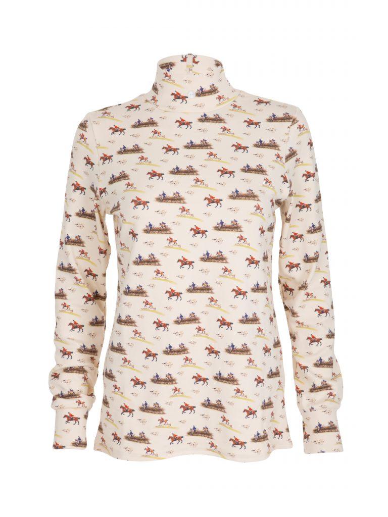 ladies hunting stock shirt