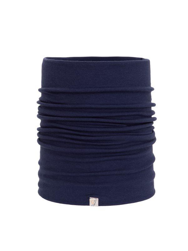 navy blue bamboo snood