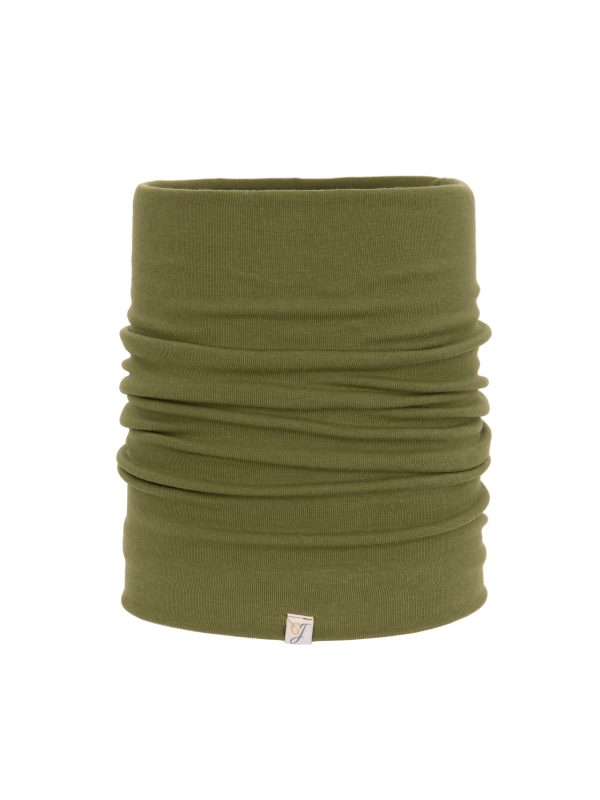 green bamboo snood